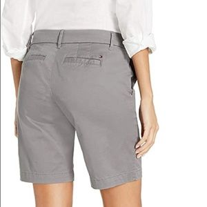 Tommy Hilfiger Gray Hollywood Chino Short